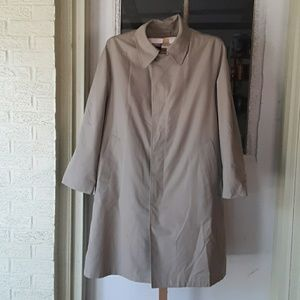 Mens Raincoat  W/Removable Lining